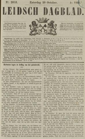Leidsch Dagblad 1866-10-20