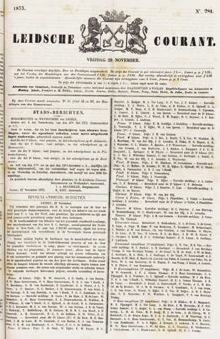 Leydse Courant 1873-11-28