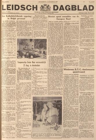 Leidsch Dagblad 1949-08-11