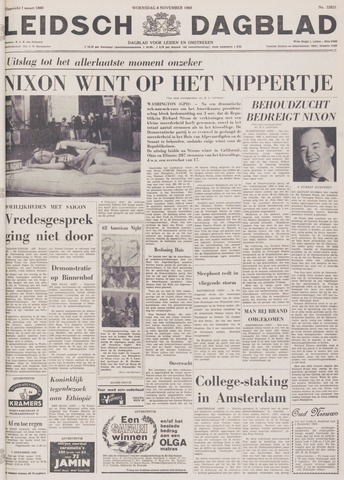 Leidsch Dagblad 1968-11-06