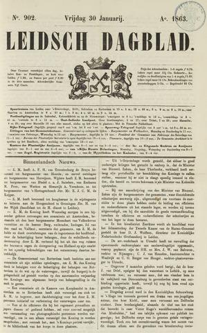 Leidsch Dagblad 1863-01-30