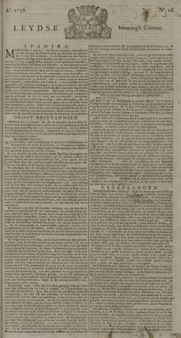 Leydse Courant 1736-02-06