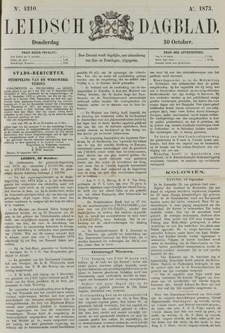 Leidsch Dagblad 1873-10-30