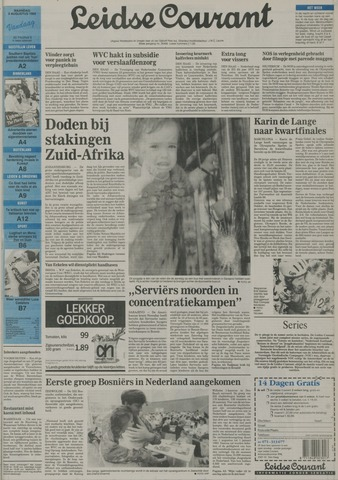 Leidse Courant 1992-08-03