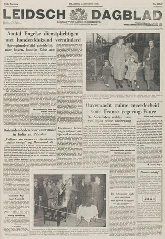Leidsch Dagblad 1955-10-10
