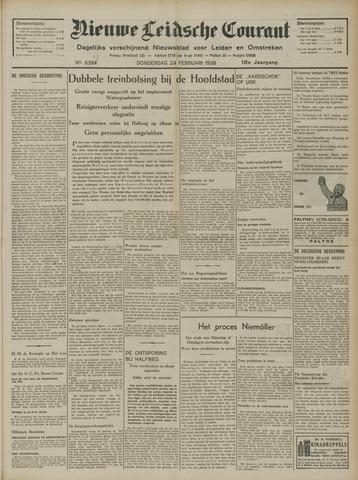 Nieuwe Leidsche Courant 1938-02-24