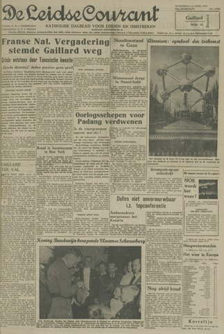 Leidse Courant 1958-04-16