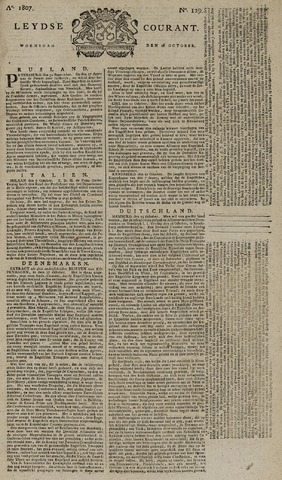 Leydse Courant 1807-10-28