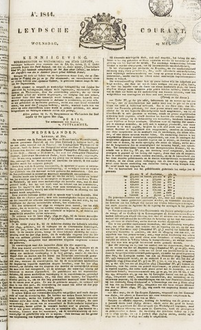 Leydse Courant 1844-05-29