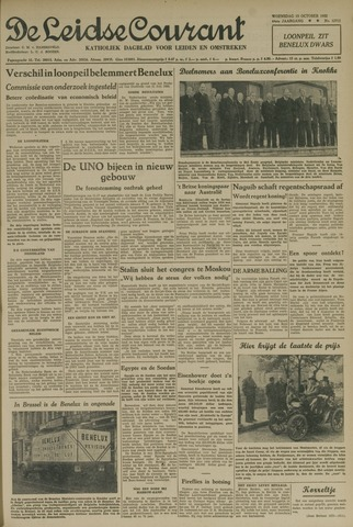 Leidse Courant 1952-10-15