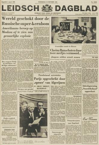 Leidsch Dagblad 1961-10-18
