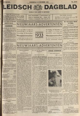 Leidsch Dagblad 1932-12-22