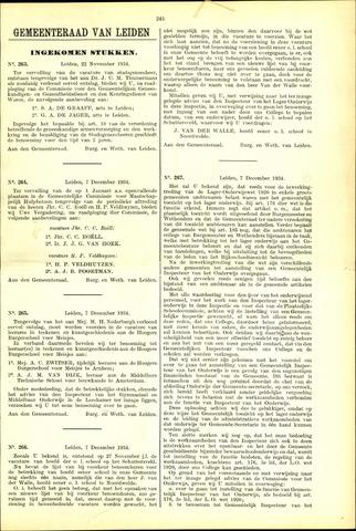 Handelingen van de Raad 1934-11-22