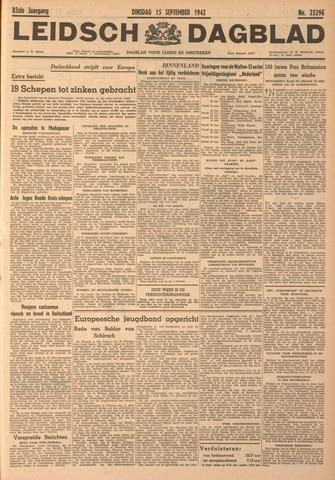 Leidsch Dagblad 1942-09-15