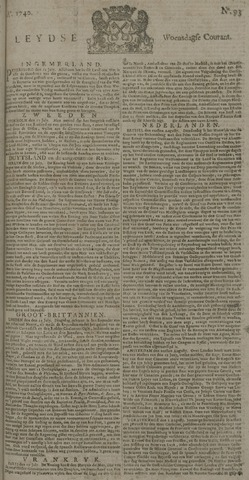 Leydse Courant 1740-08-03
