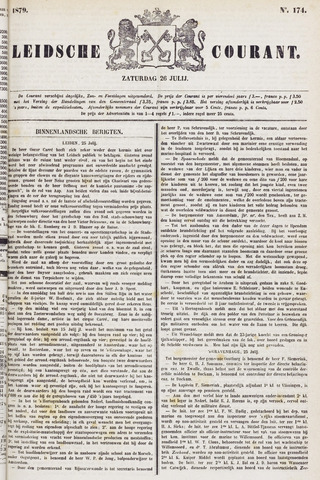 Leydse Courant 1879-07-26