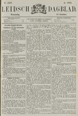 Leidsch Dagblad 1873-10-15