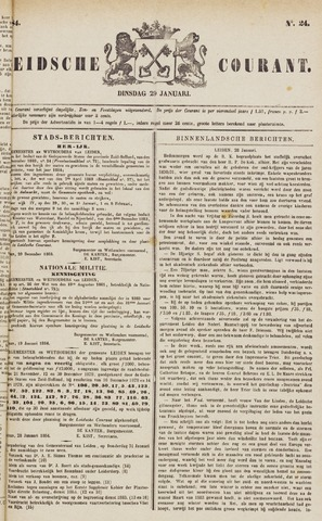 Leydse Courant 1884-01-29