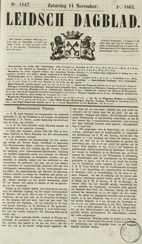 Leidsch Dagblad 1863-11-14