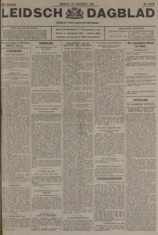 Leidsch Dagblad 1935-08-20