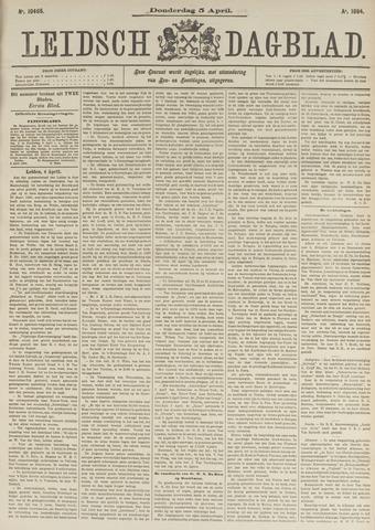 Leidsch Dagblad 1894-04-05