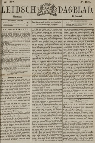 Leidsch Dagblad 1876-01-10