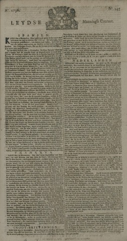 Leydse Courant 1736-12-03