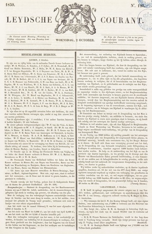 Leydse Courant 1850-10-02