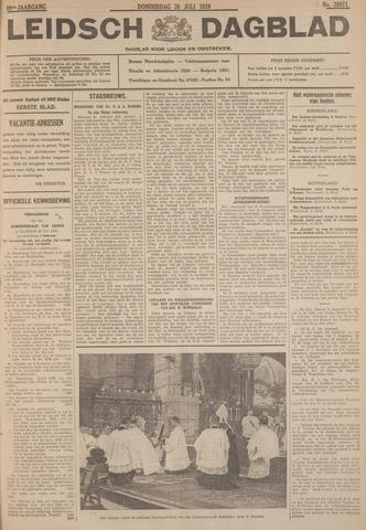 Leidsch Dagblad 1928-07-26