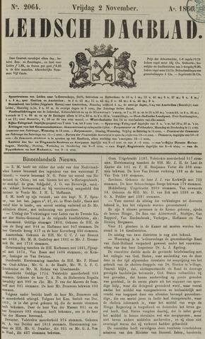 Leidsch Dagblad 1866-11-02