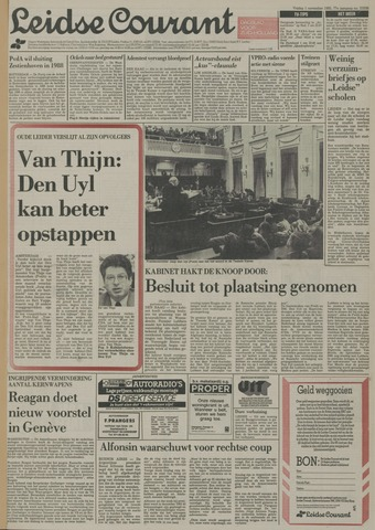 Leidse Courant 1985-11-01