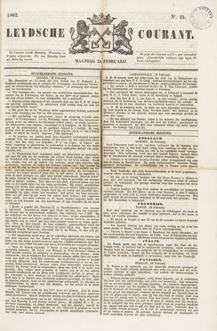 Leydse Courant 1862-02-24