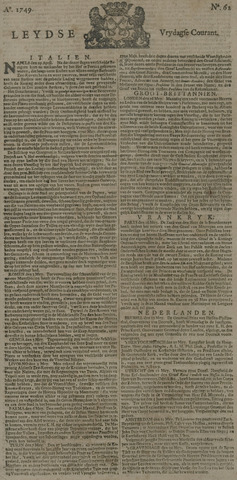 Leydse Courant 1749-05-23