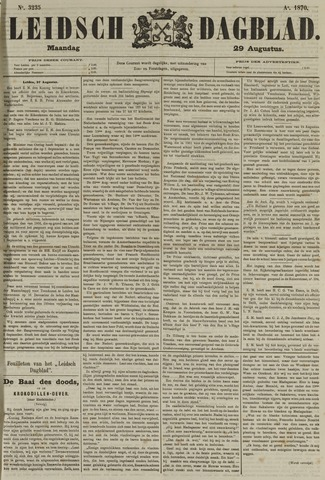 Leidsch Dagblad 1870-08-29