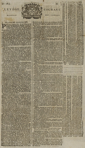 Leydse Courant 1805-01-07