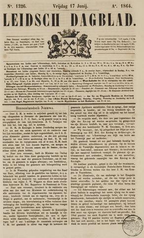 Leidsch Dagblad 1864-06-17
