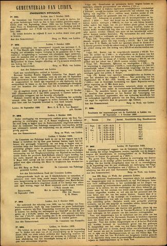 Handelingen van de Raad 1889-10-01