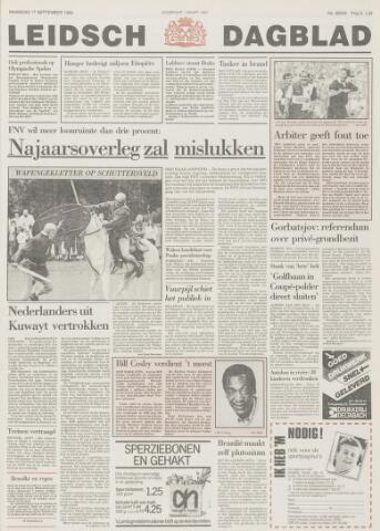 Leidsch Dagblad 1990-09-17