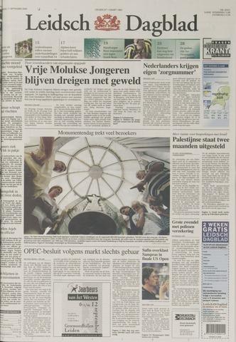 Leidsch Dagblad 2000-09-11