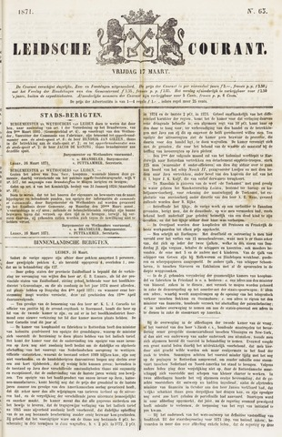 Leydse Courant 1871-03-17
