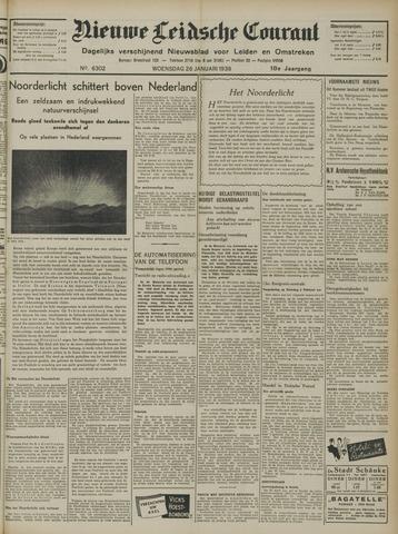 Nieuwe Leidsche Courant 1938-01-26