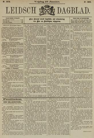 Leidsch Dagblad 1890-01-10
