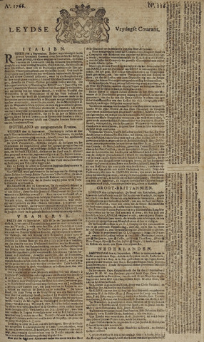 Leydse Courant 1766-09-26