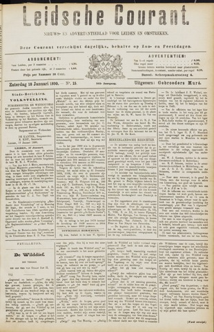 Leydse Courant 1890-01-18