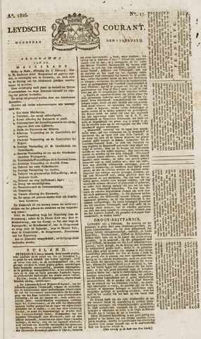 Leydse Courant 1826-02-08