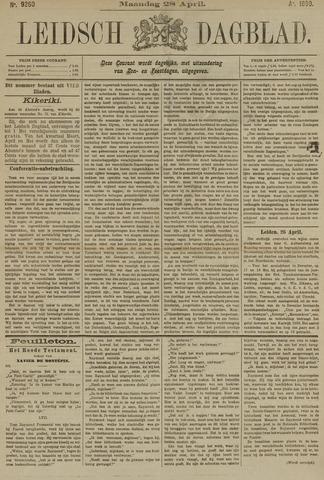 Leidsch Dagblad 1890-04-28