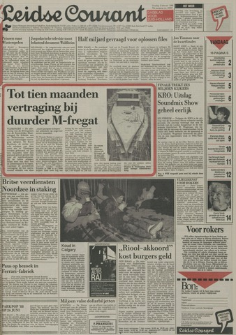 Leidse Courant 1988-02-02