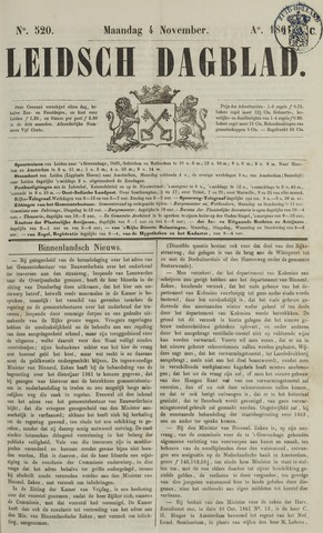 Leidsch Dagblad 1861-11-04
