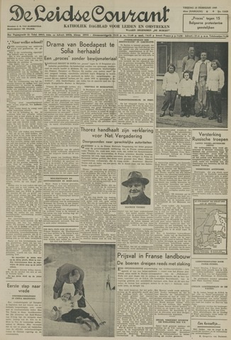 Leidse Courant 1949-02-25