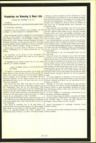 Handelingen van de Raad 1934-03-21